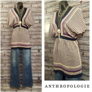 Magyar Sleeve Tapestry Tunic by Anthropologie